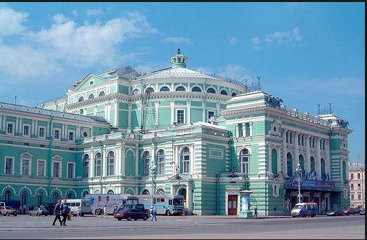 mariinsky theater navy and sky