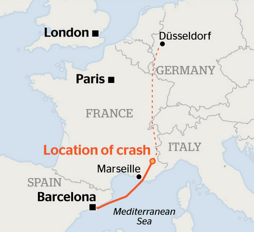 node of ranier plane crash monaco german